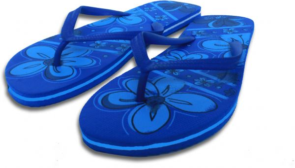 851475821d1ba Family Maid Women s Casual Blue Rubber Flip flops Slippers