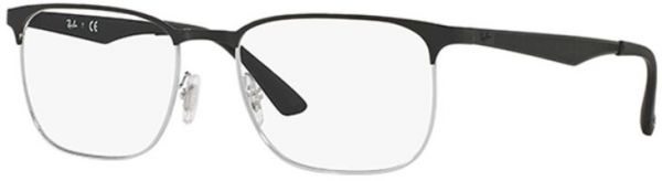 b7dae6f918 Ray-Ban Half Frame Glasses Frame For Unisex - Black