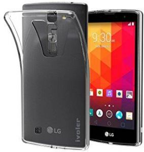 LG Magna H502F, H500F ( Y90) TPU Silicone Clear Case Back Cover by Muzz