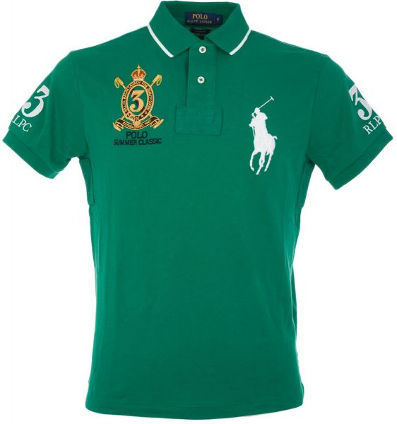 T For Men Ralph Green Lauren Polo Shirt TK1cl3uFJ