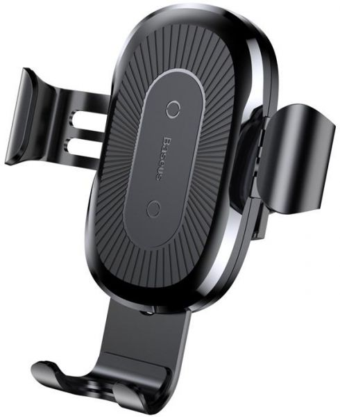 competitive price 77c54 bf5a8 Baseus Car Mount Qi Wireless Charger Car Phone Holder For iPhone X 8 Plus  Quick Charge Fast Charging Pad For Car Holder Stand