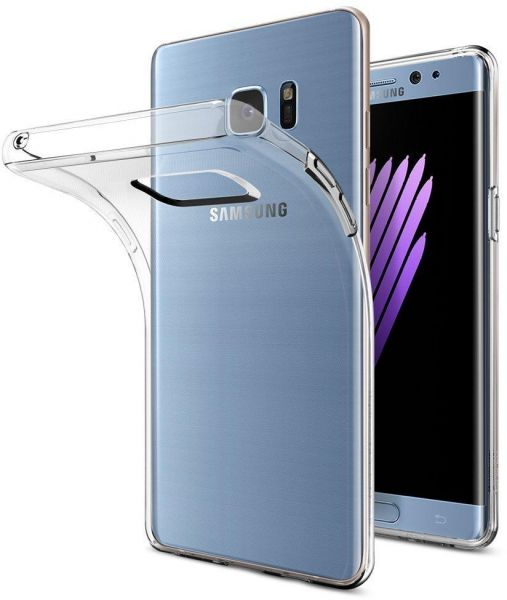Samsung Galaxy Note Fe Case Smooth Silicone Back Case Cover For