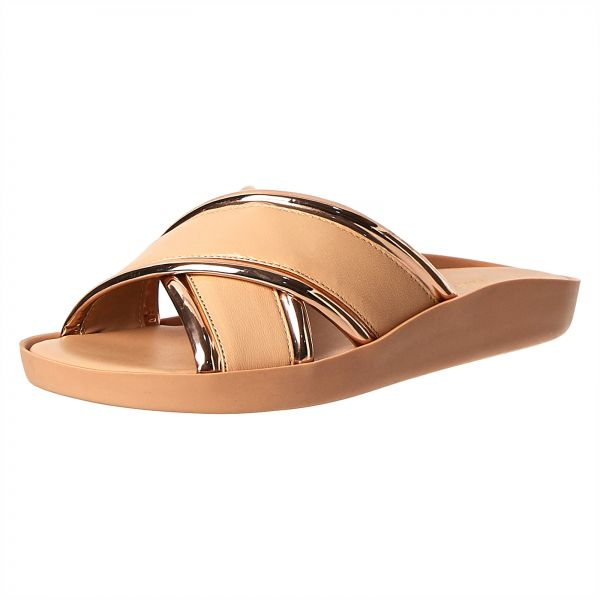 7b12a3177232 Buy NINE WEST Brown Flat Sandal For Women in Saudi Arabia