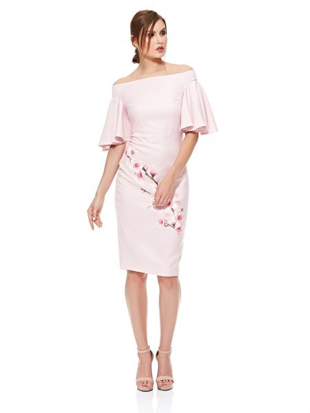 15a43f07c946 Ted Baker Straight Dress for Women - Light Pink
