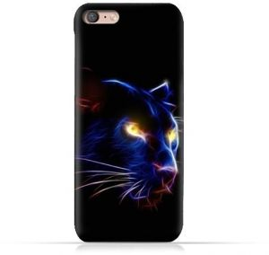 Oppo A7 1 TPU Silicone Protective Case with Panther Eye