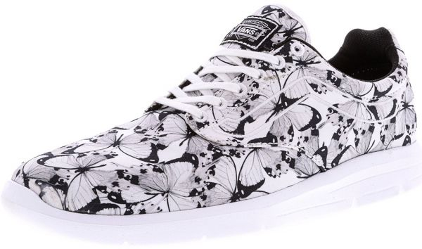 Vans ISO 1.5 Butterfly Running Shoes for Women - White   Black ... 124aa227a