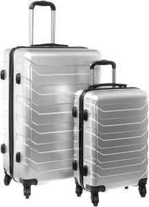 51a995452af8 4 Wheel PC 73 Luggage 2 Pcs Set 20