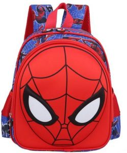 674f83d8f3fe schoolbag primary scholar cartoon 3D spider man bag kindergarten shoulder  bag