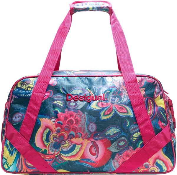ae549e3133 Desigual Galactic Bloom Gym Unisex Duffle Bag - Multi Color