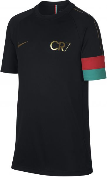 0a5ab9750a9c Nike Dri-Fit Academy CR7 Football T-Shirt for Boys Sport Top For ...