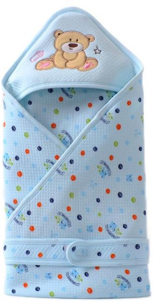 Infant Newborn Baby Sleeping Bag Envelope Cartoon Cotton Blanket Swaddle - Blue. by Other, Baby Accessories - 5 reviews