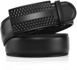 1d4f0b20881 Black Leather Belt For Men