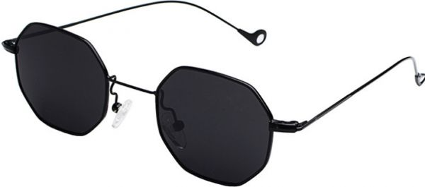 1c77beb647e Fashion Black Sunglasses Small frame polygon Clear lens Sunglasses ...