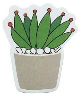 souq mini cactus sticky notes cute post it notes self stick office