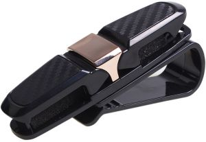 cff7b158de7 ... Sun Visor Sunglasses Eyeglasses Mount with Ticket Card Clip - Black. by  Other