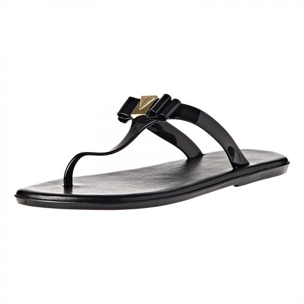 e59d3028073f Michael Kors Flip Flop Slippers for Women - Black Price in Saudi ...