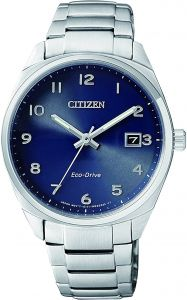 Citizen Royal Blue Dial Stainless Steel Band Watch - EO1170-51L fb011192db0