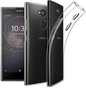 Sony Xperia L2 TPU Silicone Clear Case Back Cover By Muzz