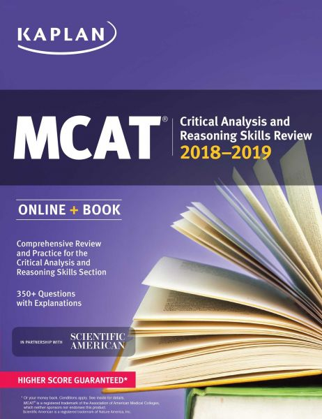 souq mcat critical analysis and reasoning skills review 2018 2019 rh uae souq com AAMC MCAT Study Guide MCAT Study Guide 2016