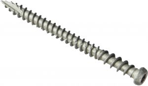 8 X 1-1//4-Inch 207 Pack The Hillman Group Hillman 47428 Stainless Steel Square Drive Deck Screw