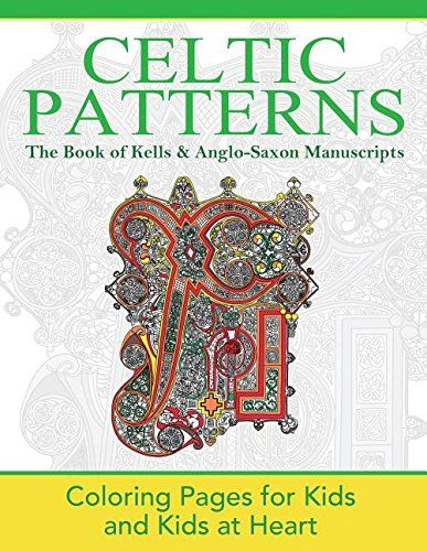 Souq   The Book of Kells & Anglo-Saxon Manuscripts: Coloring Pages ...