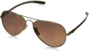 31a292d497 Ray-Ban Unisex RB8317CH Chromance Lens Aviator Sunglasses