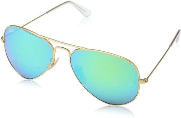 96eaab204b Ray-Ban 3025 Aviator Large Metal Mirrored Non-Polarized Sunglasses ...