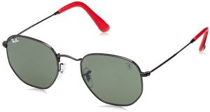 125a0f5946b Ray-Ban Men s 0rb3548nmf0083151metal Unisex Square Sunglasses