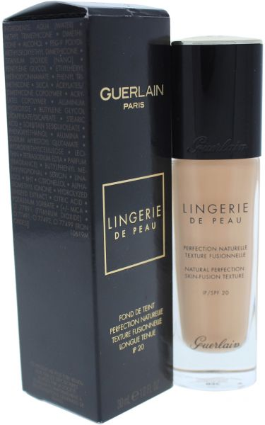 0309c5f16 Guerlain Lingerie de Peau Foundation SPF 20 03C Natural Cool for Women - 1  oz
