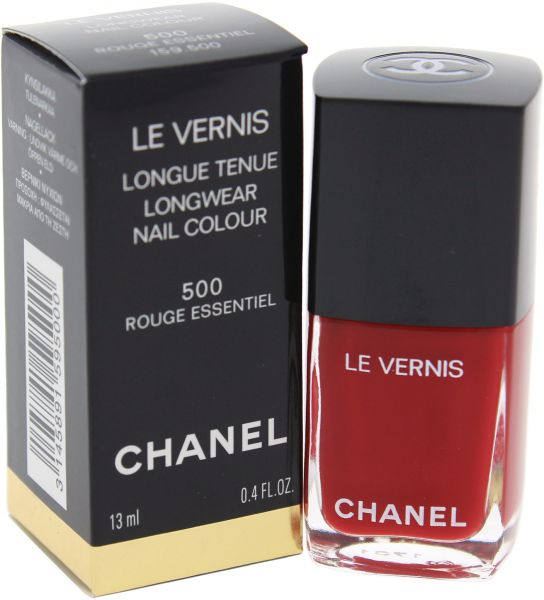 327820d0f34 Chanel Le Vernis Long wear Nail Color 500 Rouge Essential for Women - 0.4  oz
