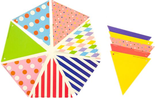 Multicolor Pennant Banner Flags 2 3m For Party Decorations