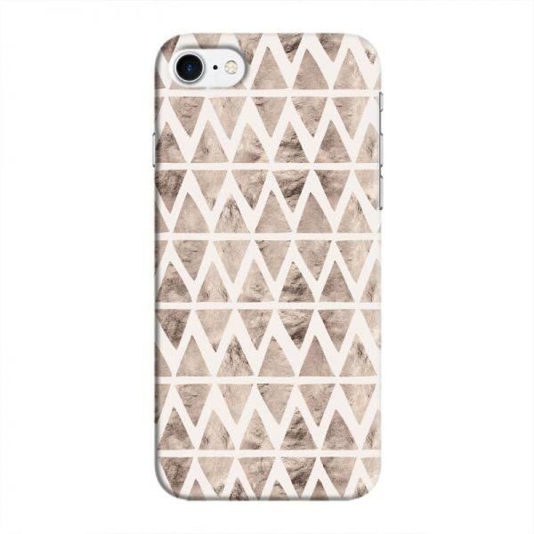 Cover It Up - Stone Triangles White iPhone 7 Hard case | Souq - UAE