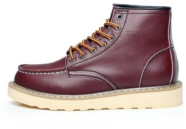 98f3bafcf720 Fashion tools Martin Boots leather English men short boots high shoes  desert boots men s Shoes-ej