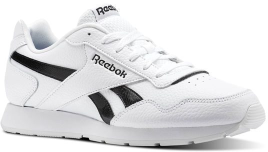 dd14718a2913 Reebok Royal Glide Walking Athletic Shoes For Men - White   Black ...