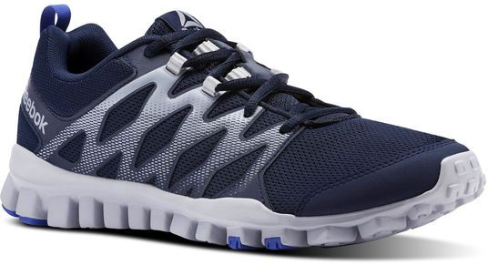 418ed9e054ab6 Reebok Realflex Train 4.0 Training Athletic Shoes For Men - Navy   Grey. by  Reebok