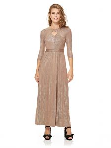 661e56f919b Mela London Key Whole Maxi Dress For Women - Gold