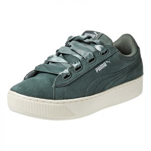 sito affidabile a8d96 ae5f6 Puma Vikky Platform Ribbon S Sneaker For Women (Green - 39 EU)