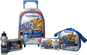 8eecc4385b TRANSFORMERS IT S GO TIME PROMOTION TROLLEY BAG 16 inch TR