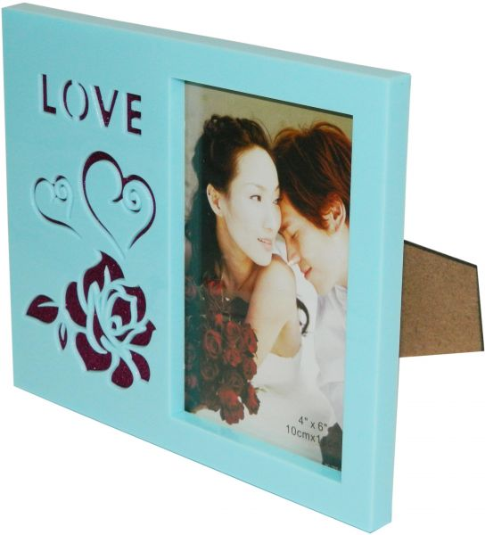 Plastic Family Photo Picture Frame With Plastic Glass   Home Decor ...