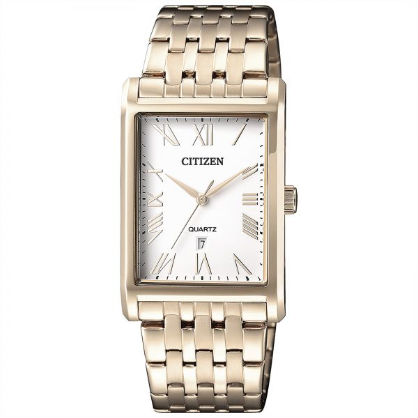 89dc0f2ff70 Citizen Men s Gold Dial Stainless Steel Band Watch - BH3003-51A ...