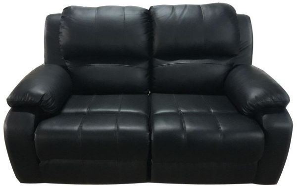 2 Seater Recliner Sofa Black Leather Souq Uae