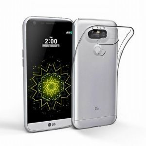 LG G5 ( H830) TPU Silicone Clear case Back Cover By Muzz