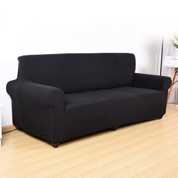 Scorpiuse Jacquard Stretch Sofa Cover Spandex Fabric Fitted Couch