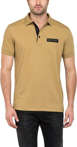 a9150fd1156f Replay Polo T-Shirt for Men - Beige