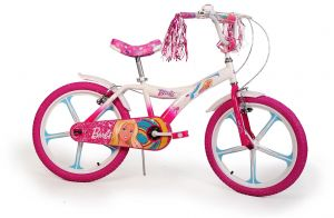 Kids Barbie Children Bike   20 Inch   1 Speed   Multi Color