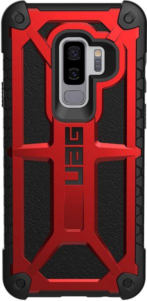 info for 6583a 20f7e UAG Samsung Galaxy S9 Plus 6.2-inch screen Monarch Feather-Light Rugged  CRIMSON Military Drop Tested Phone Case