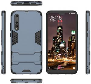 online store e68a1 56765 Huawei P20 Pro Case, Huawei P20 Pro Hybrid Case, Dual Layer Shockproof  Hybrid Rugged Case Hard Shell Cover with Kickstand for 6.1 Inch Huawei P20  Pro