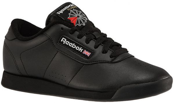 3ad6a03796b Reebok Princess Walking Athletic Shoes For Women - Black