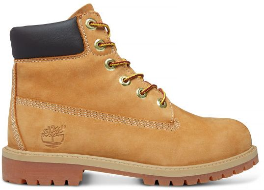 Timberland 12909 Junior 6 Inch Premium Waterproof Boots