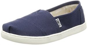 fe893c3fb76a TOMS Slip On Shoes for Kids - Navy